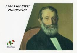 [DC1459] CARTOLINEA - 150° ANNO UNITA´ D´ITALIA - PROTGONISTI PIEMONTESI - GIOVANNI BATTISTA SELLA (35) - Storia