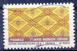 FRANCE 2011 World Fabrics - (55c.) -France   FU - France