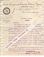 Lettre De 1915 - HACCOURT - SOCIETE ANONYME DES CIMENTS PORTLANF LIEGEOIS - Belgique