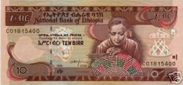 ETHIOPIA 10 BIRR ND 2006 UNC - Etiopía