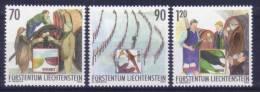 Liechtenstein N° 1271 à 1273 Neufs ** - Vin - Travail De La Vigne - Liechtenstein