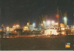 76 Le Havre Port Autonome  La Nuit  Bateaux Port Conteneur - Le Havre
