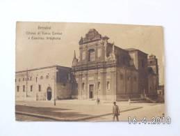 Brindisi. - Chiesa Di Santa Teresa E Caserna Artiglieria. (16 - 10 - 1914) - Brindisi
