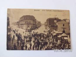 Brindisi. - Corso Garibaldi E Corso Umberto L. (15 - 10 - 1914) - Brindisi