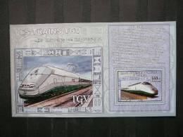 2006 Congo Trains Locomotives  S/s ** MNH #749 - Treinen