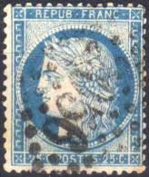 LISIEUX  (Calvados) - GC 2056  Sur Yvert  60 C  - Indice 1  (55970) - Marcophilie (Timbres Détachés)