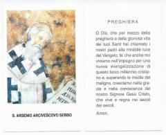 San Arsenio Arcivescovo Serbia - Sc.A - Images Religieuses
