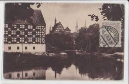 Poland - Bydgoszcz - Blick Vom Muhlendamm Auf Speicher Und Pfarrkirche - Pologne