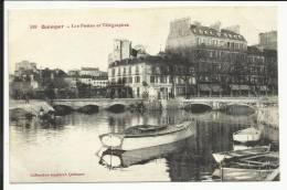 QUIMPER , Les Postes Et Télégraphes , 1916 - Quimper