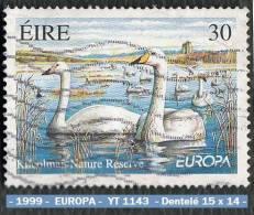 1999 - Europe - Irlande - EUROPA - 30 P. Cygnes De La Réserve Naturelle De Kilcolman ( Cork ) -