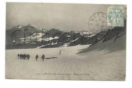Annecy (74) : Le 11ème Bataillon De Chasseurs Alpins Au Glacier De La Vache En 1906 (animé). - Annecy