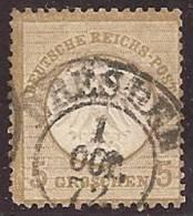 ALEMANIA 1872 - Yvert #6 - VFU - Oblitérés