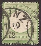 ALEMANIA 1872 - Yvert #7 - VFU - Oblitérés
