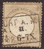 ALEMANIA 1872 - Yvert #11 - VFU - Usados