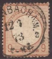 ALEMANIA 1872 - Yvert #24 - VFU - Usados