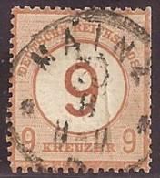 ALEMANIA 1874 - Yvert #29 - VFU - Usados