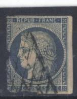 Francia  -  1849 / 50  -  Yvert - 4 ( Usado ) - 1849-1850 Ceres