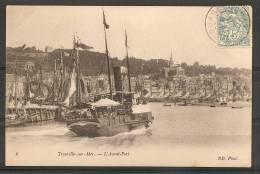 Trouville : L'avant-port - (t978) - Trouville