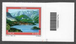 2012 SERIE TURISTICA BAVENO 0,60C. CODICE A BARRE MNH** AUTOADESIVO - 6. 1946-.. Repubblica