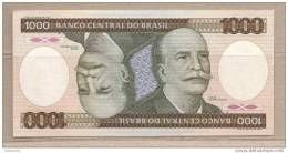 Brasile - Banconota Non Circolata FdS Da 1000 Cruzeiros P-201d - 1986 - Brésil