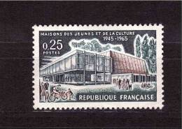 FRANCE 1965  House Of The Youth  Michel Cat N° 1507 Mint Never Hinged - Unclassified