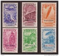 GUIBE12-L25551TTOT.HISTOR IA DEL  CORREO.España Spain Espagne. GUINEA  ESPAÑOLA BENEFICENCIA (Ed  12/7**).SUPER LUJO - Otros (Tierra)