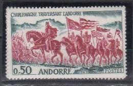 ANDORRE   1963     N°  167        C0TE    13.90   EURO     (558) - Andorre Français