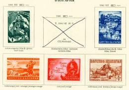 BULGARIA - 1941 Reacquisition Of Macedonia Mounted Mint - 1909-45 Kingdom