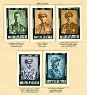BULGARIA - 1944 King Boris III Mourning Issue Mounted Mint (imperf) - 1909-45 Kingdom