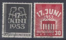 Berlin Minr.110-111 Gestempelt - Berlin (West)