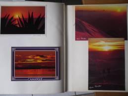 CARTES POSTALES ET PHOTO MODERNES DE COUCHE DE SOLEIL  85 CARTES - Cartes Postales