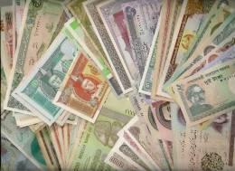 160 PCS DE BILLETS DIFFERENTS - 160 PCS DIFFERENT BANKNOTES PAPER MONEY - Alla Rinfusa - Banconote