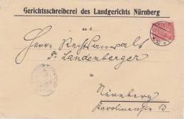 DR Brief EF Minr.30 Nürnberg 22.8.22 Prüfbefund Ansehen Seltene EF !!!!!!!!!!! - Dienstpost