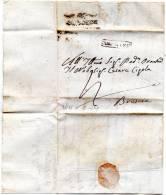 1818 LETTERA CON ANNULLO BERGAMO