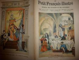 1902 Le Petit Français Illustré : Hôpital Jadis; Les JEUX Chez Les PEAUX-ROUGES; Une Pluie De POISSONS Aux U.S.A - Livres, BD, Revues