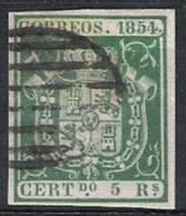 01764 España Edifil 26 O Cat. Eur. 148,- - 1850-68 Kingdom: Isabella II