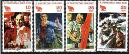 RDA 1981  Y&T  2252/55   N** - [6] Democratic Republic