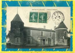 Artigues Gironde Chateau.  Postée 1910 - Francia