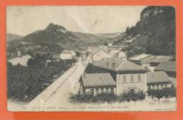 Z118, Saint-Claude, Ecoles Maternelles Et La Rue Christine, 107,  Circulée 1912, 1 Accroc - Saint Claude