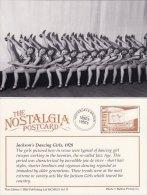 Postcard Jackson´s Jazz Dancing Girls 1928 Hulton Photo Nostalgia - Dance