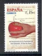 4.- 005 SPAIN ESPAGNE 2011. 450 Year Of Celebrations Of San Sebastian. El Pont De Suert. Apple. Hand - 1931-Aujourd'hui: II. République - ....Juan Carlos I