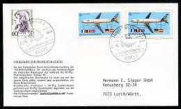 27679) BRD - SoST 6000 FRANKFURT AM MAIN 3 Vom 31.8.1990 - Brief - Bundespostmuseum, Abb.: Postkutsche - [7] République Fédérale
