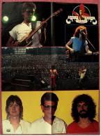 Musik Poster  - Barclay James Harvest -  Rückseitig Delphin  -  Ca. 44 X 57 Cm  -  Von Pop-Rocky  Ca. 1982 - Plakate & Poster