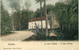 Hastière - La Route D'Anthée - Le Pont D'Arcole, Cantonnier - Serie Nels - 1907 ( Voir Verso )
