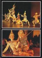 THAILAND POSTCARD - Cultural Show, Dance - Tailandia