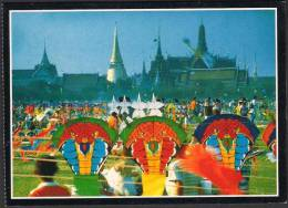 THAILAND POSTCARD - Kite Flying Festival - Tailandia