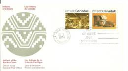 FDC.CANADA 1974 - American Indians