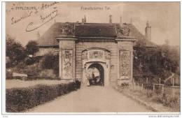 CPA De PFALZBURG- PHALSBOURG (57) - Porte De FRANCE - Franz¨sisches Tor - ANIMATIONS - 1918 - Phalsbourg