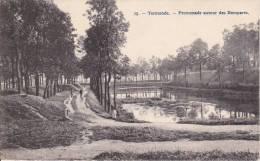 Termonde. - Promenade Autour Des Remparts.; Zeer Mooie Kaart,  Nr. 15 Uit De Reeks Bertels - 1910 - Dendermonde