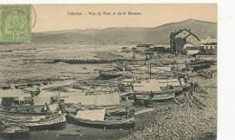 Tabarka Vue Du Port Et De La Douane Voyagé Beja Mr De Maisoncelle Postes Gabes - Tunisie